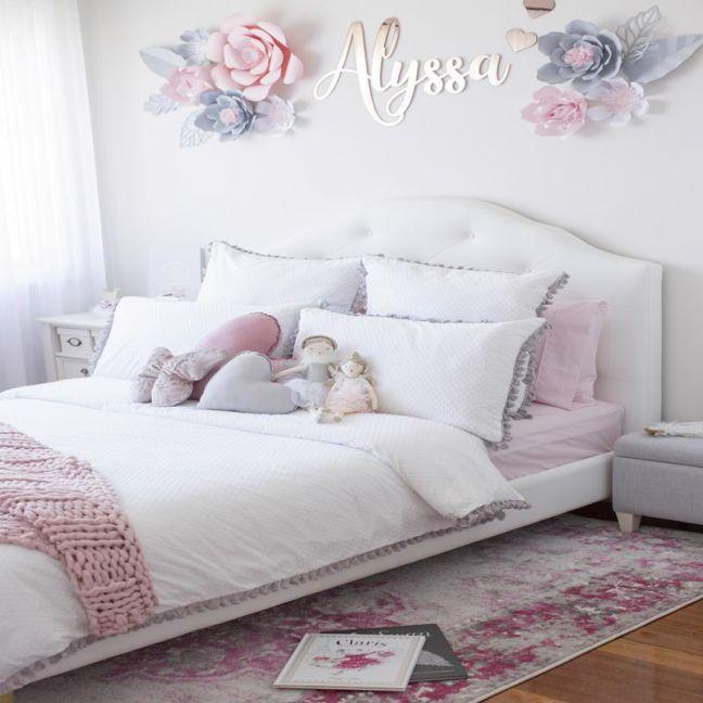 Alyssa Rhythms | Grey-Fuscia Coloured Rug
