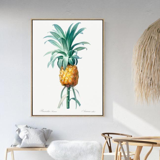 Ananas | Drop Shadow Framed Art Print
