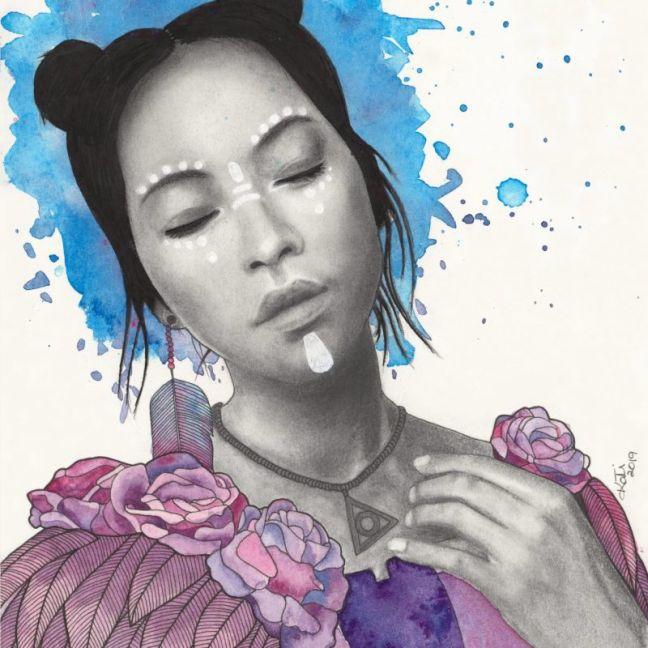 And She Was Again by Kati Garrett Filho | Ltd. Edition Print | Art Lovers Australia