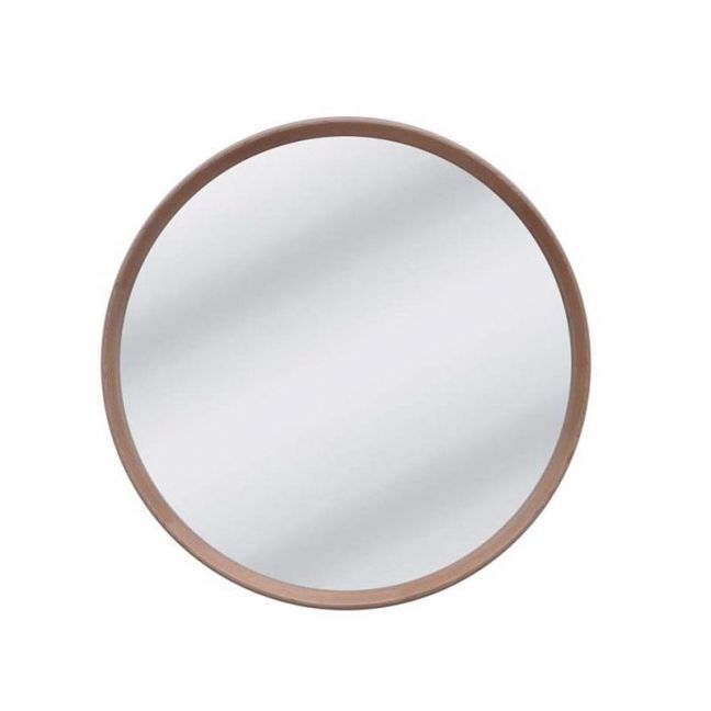 Anderson Round Mirror | Natural Oak |  80 cm