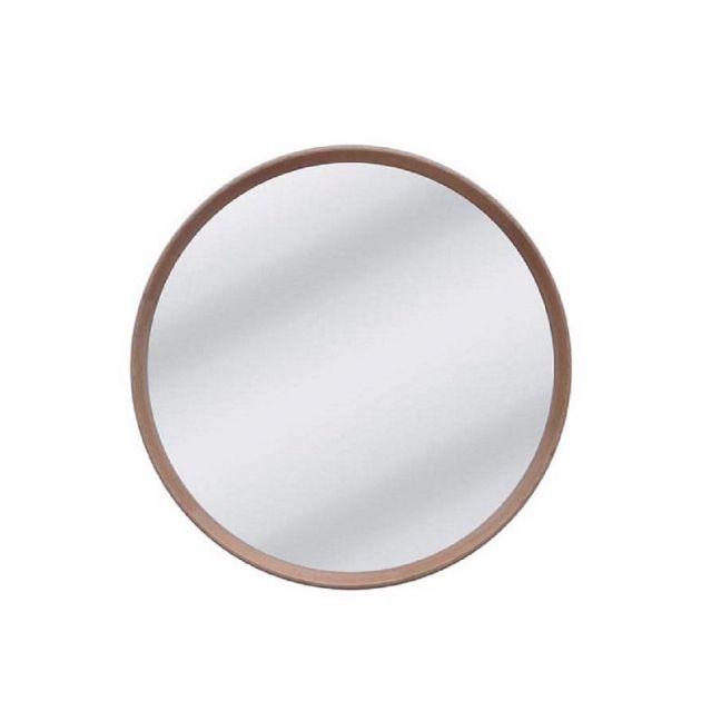 Anderson Round Mirror   Natural Oak