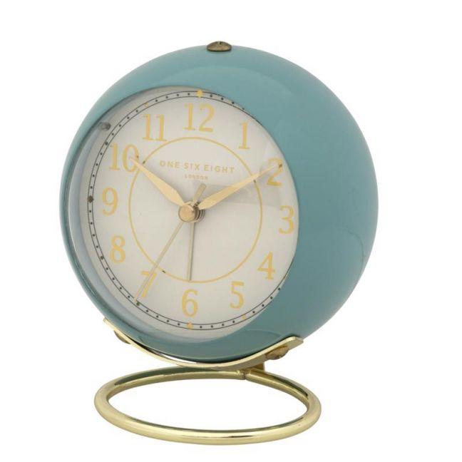 Anna Alarm Clock | 13cm | Silent | Duck Egg Blue | One Six Eight London