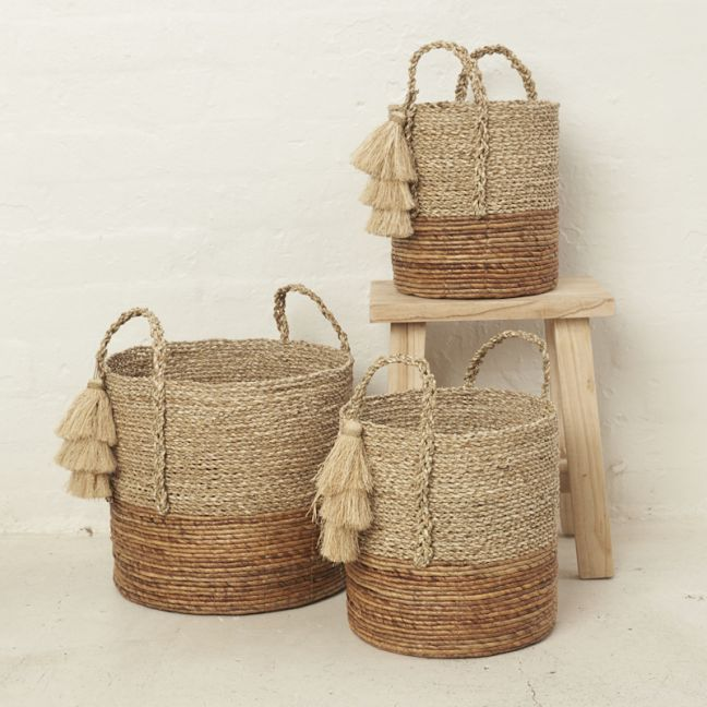 Anoki Tassel Basket