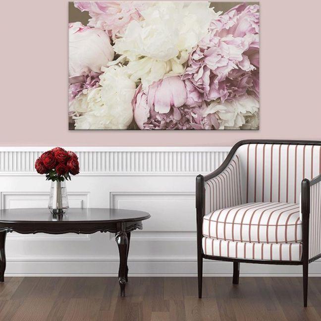 Antique Floral | Canvas Artwork | Various Sizes