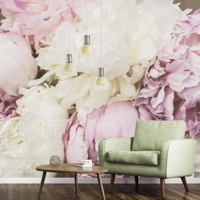 Antique Floral | Full Wall Mural