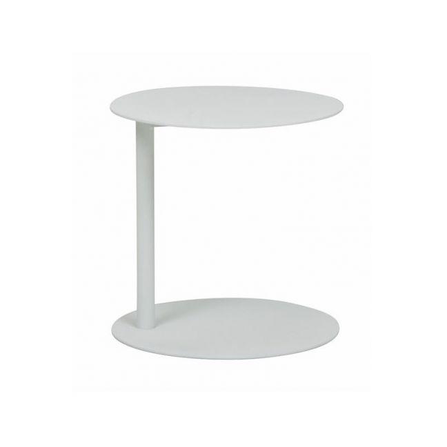 Aperto Ali Round Side Table | White