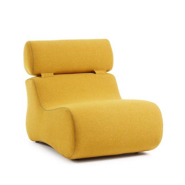 Arbor Upholstered Armchair | Mustard