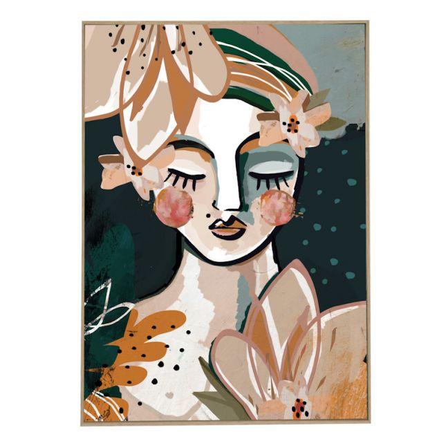 Aromanda | Framed Canvas Print