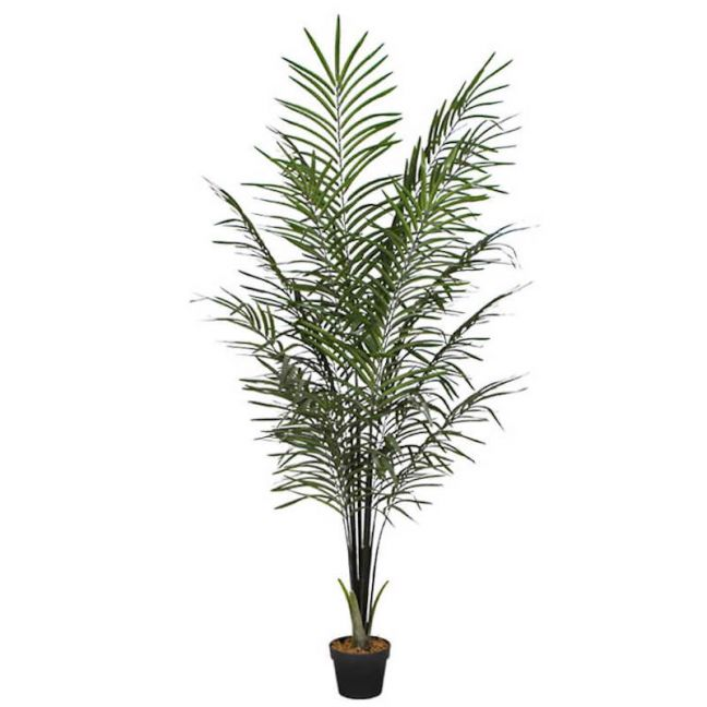 Artificial Areca Palm Black Trunks 190cm