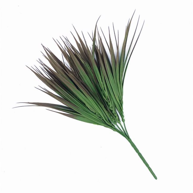 Artificial Brown Tipped Grass Plant | UV Resistant | 35cm