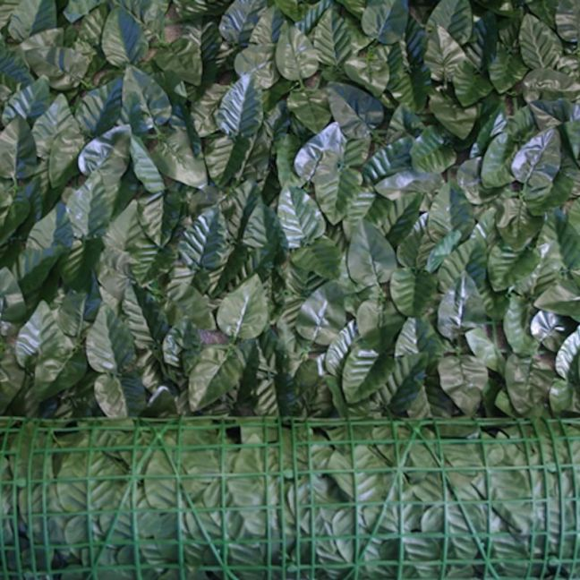 Artificial Ivy Rolls (Peach Leaf) | 3m x 1m