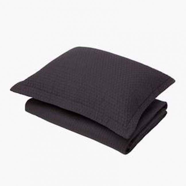 Aspen Charcoal Quilt | Queen Bed