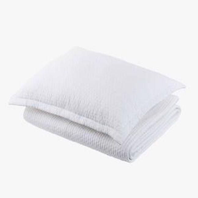 Aspen White Pillowcase   Standard