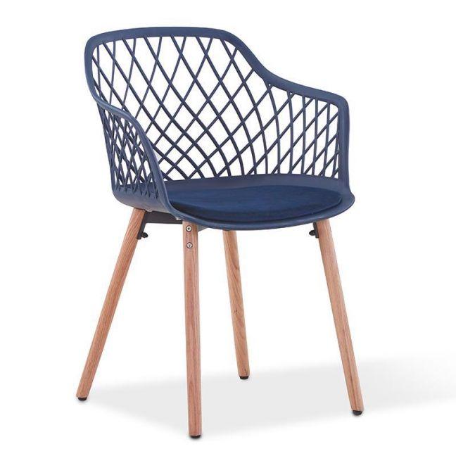 Atalia Arm Chair | Blue