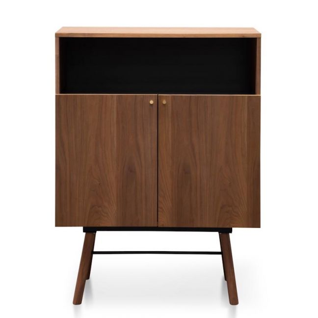 Avante Side Cupboard | Walnut Veneer | Interior Secrets