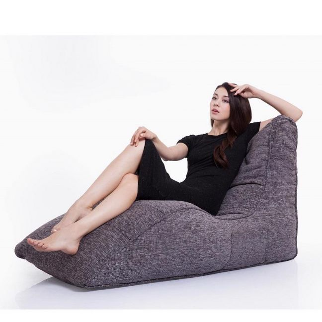 Avatar Lounger by Ambient Lounge | Luscious Grey Interiors Fabric