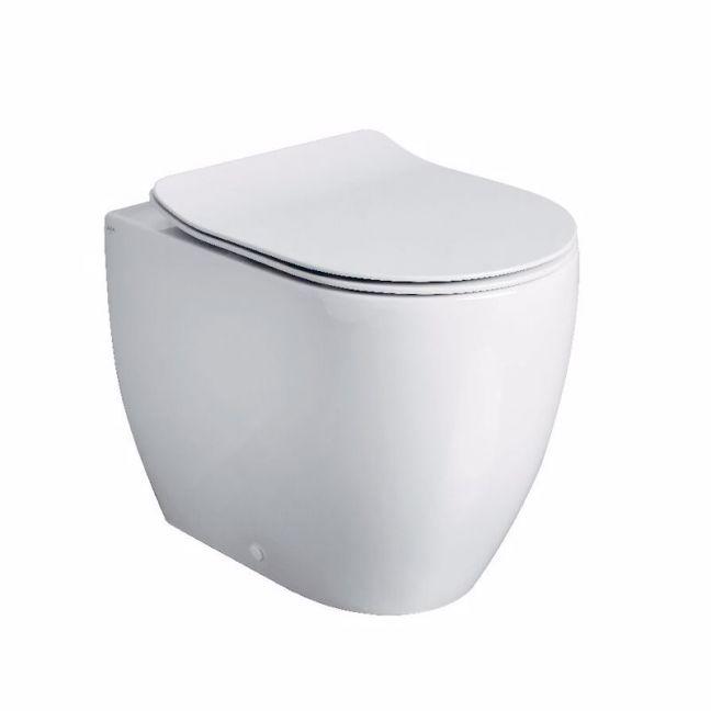 Axa Uno Back To Wall Rimless Pan