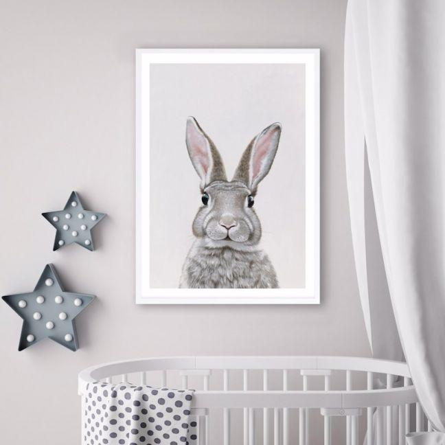 Baby Rabbit III Premium Art Print (Various Sizes)