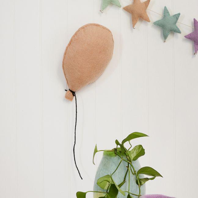 Balloon Felt Wall Hanging | Blush