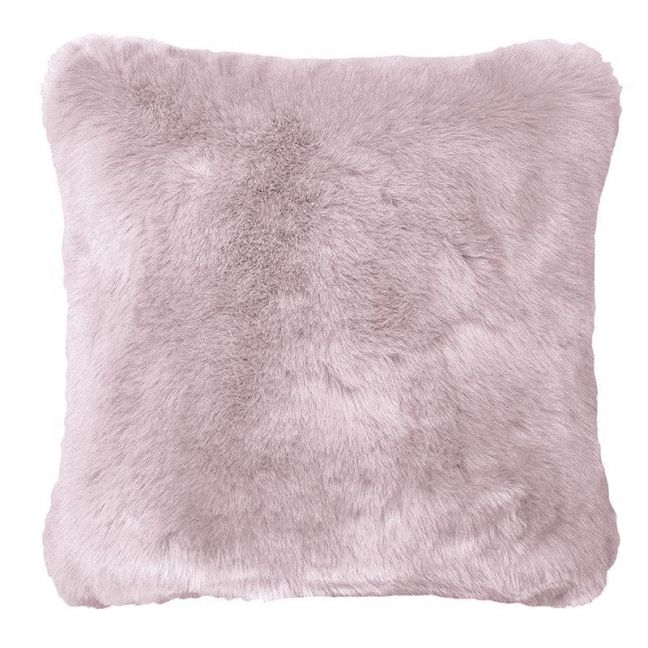Bambury Faux Fur Cushion | 50 X 50cm | Lilac