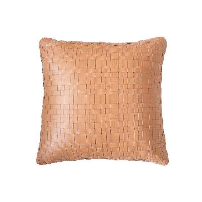 Bambury Nevada Leather Cushion | 43 X 43cm | Tan