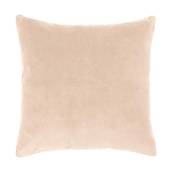 Bambury Velvet European Pillowcase | 65 x 65cm | Nude