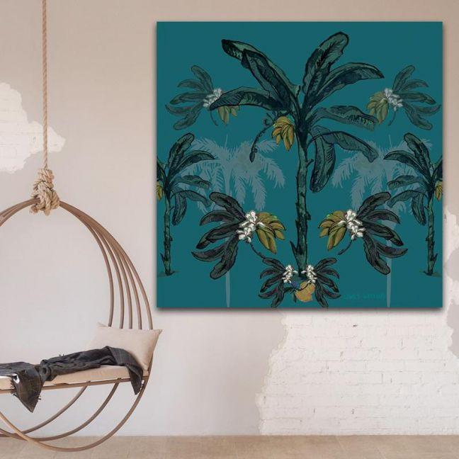 Banana Bungalow | Canvas Print by Libby Watkins