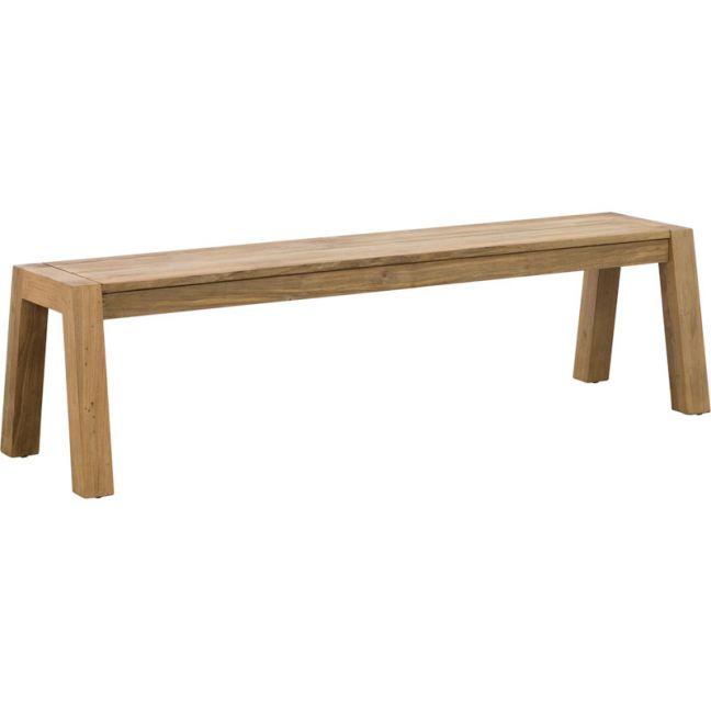 Batari 170cm Reclaimed Teak Bench | Raw | Schots