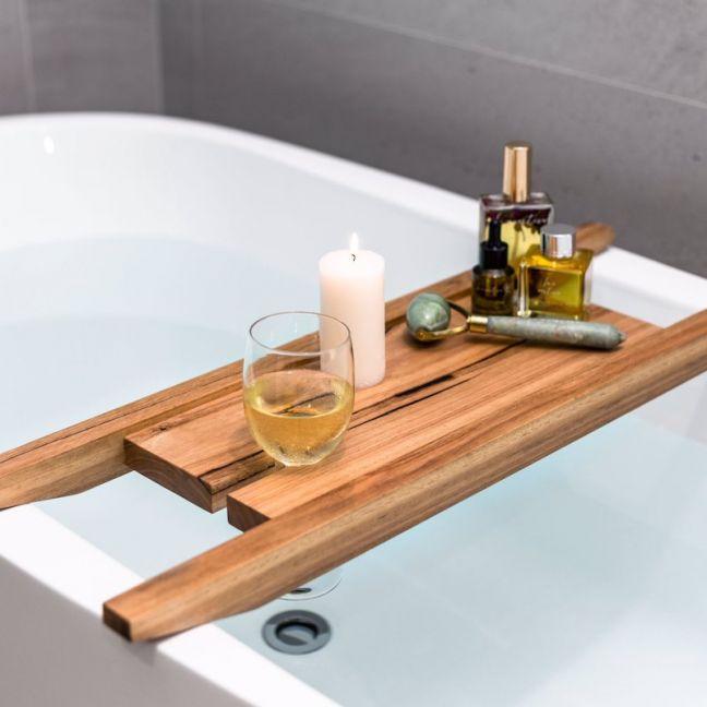 Bath Caddy | American White Oak