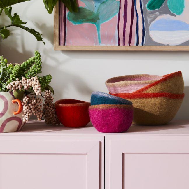 Batuko Rim Bowl Small | Tangelo