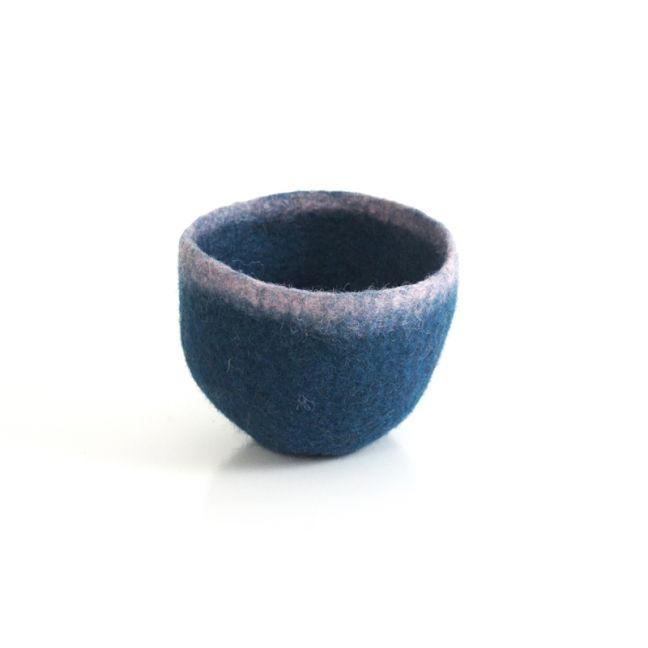 Batuko Rim Bowl Small   Teal
