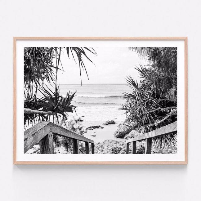 Beach Hideaway | Framed Print | 41 Orchard
