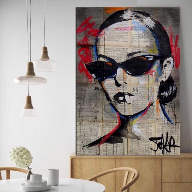 Beatnik Flair | Canvas Print by United Interiors