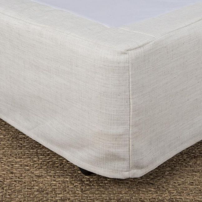Bed Valance | Ivory | Queen or King Size