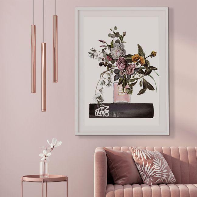 Berry Bliss  | Chanel | Fashion Illustration