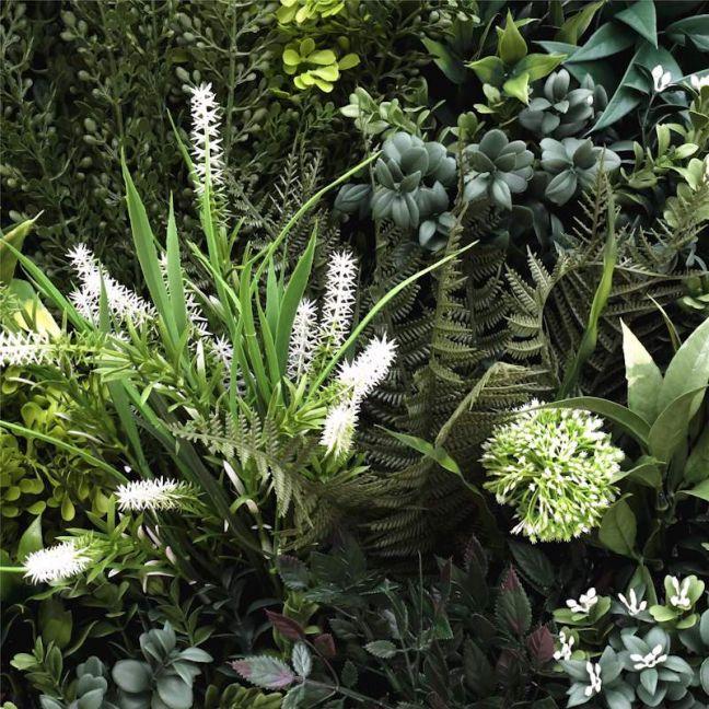 Bespoke Vertical Garden Green Wall UV Resistant   Sample   45cm x 45cm