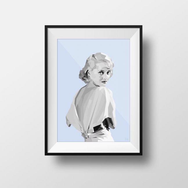 Bette | Art Print | Framed and Unframed