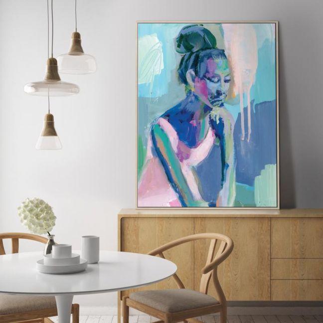 Big Bun   Donna Weathers   Canvas or Print by Artist Lane