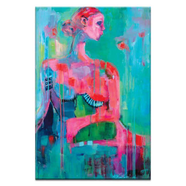 Big Red Kiss | Canvas or Printby Artits Lane