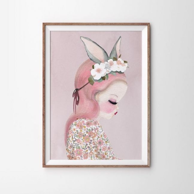 Bilby Belle (Pink) Art Print | Various Sizes