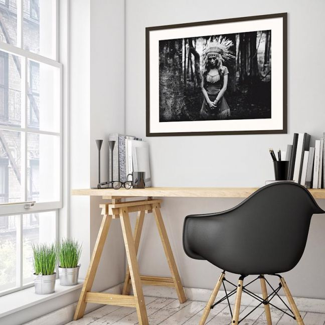 Black and White Mood in the Forest | Prints and Canvas by Photographers Lane