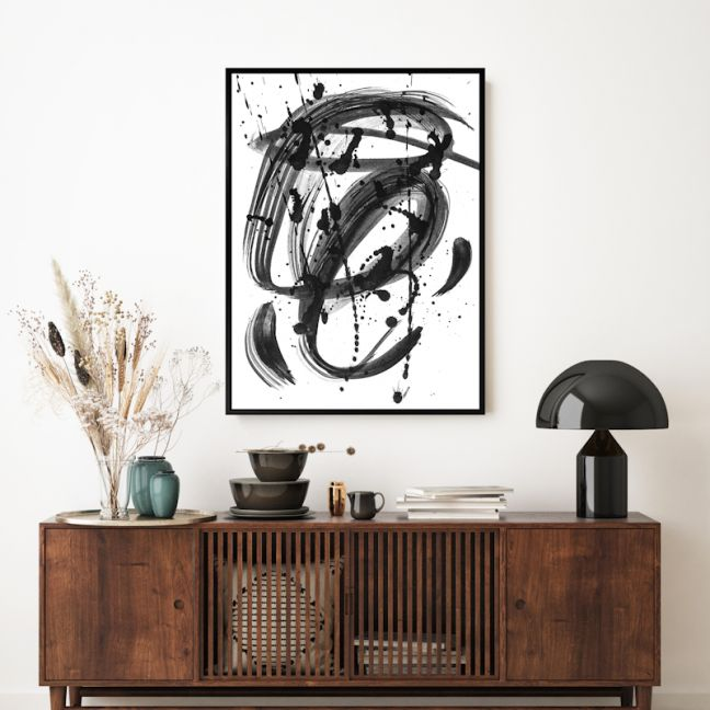 Black & White Dreams 3 | Shadow Framed Wall Art