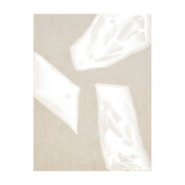 Blanc Spaces III | Canvas Print