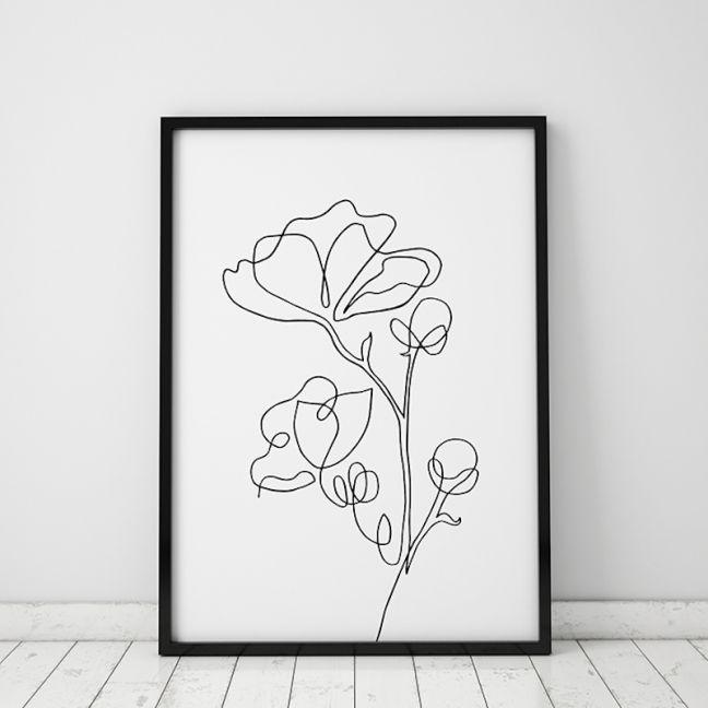 Bloom | Floral Art Print | Framed or Unframed