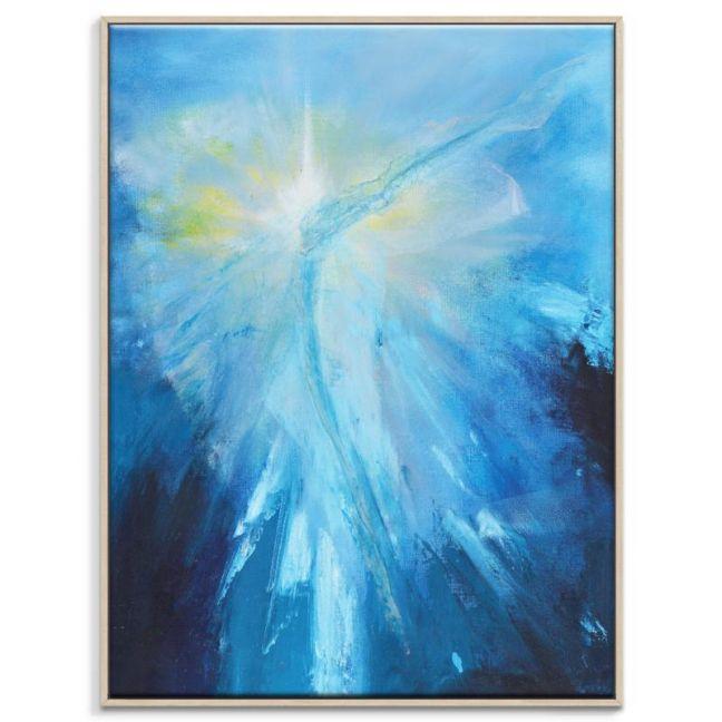 Blue Flame | Oliver Ayem | Canvas or Print by Artist Lane