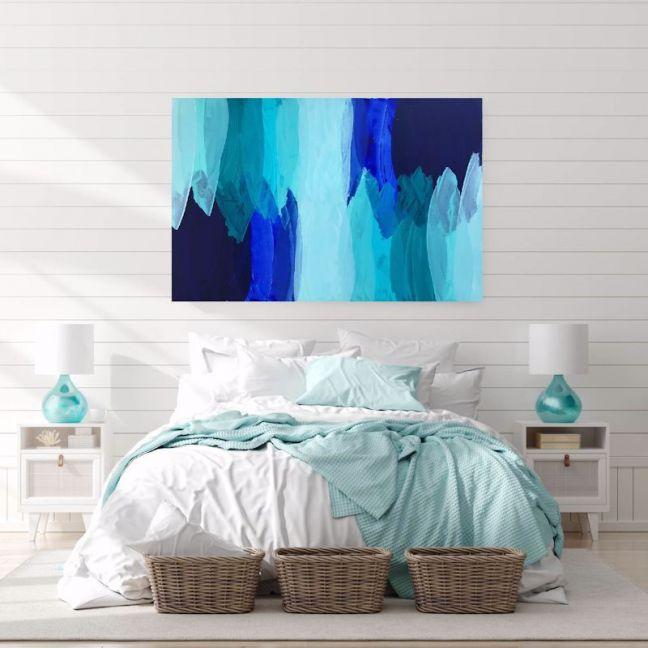 Blue Water Bay | Original Artwork by Maggi McDonald
