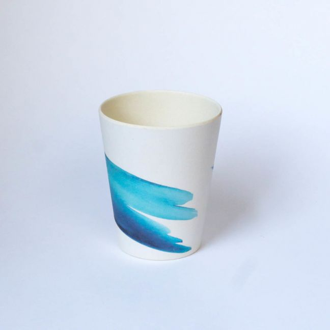 Blue Wave cup | Emilie O'Connor Homestore