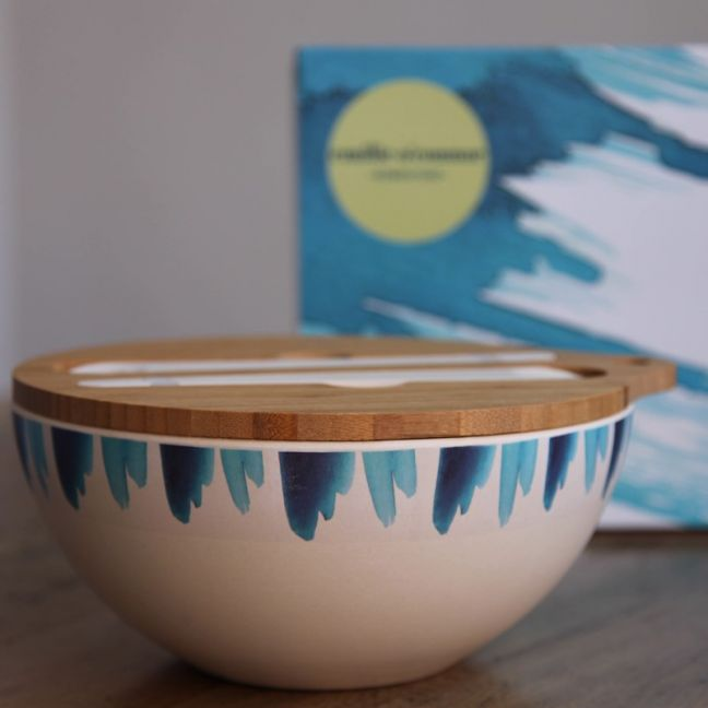 Blue Wave Salad Bowl