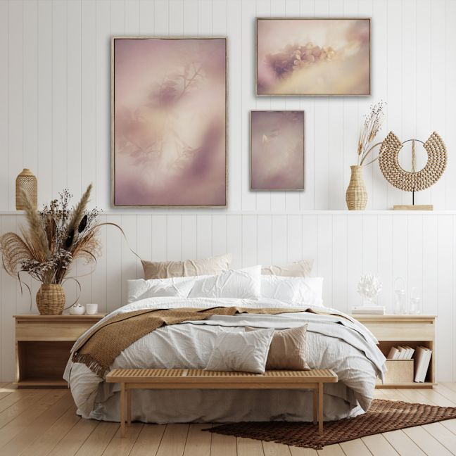 Blush Dreams 2 | Set of 3 Art Prints | Unframed