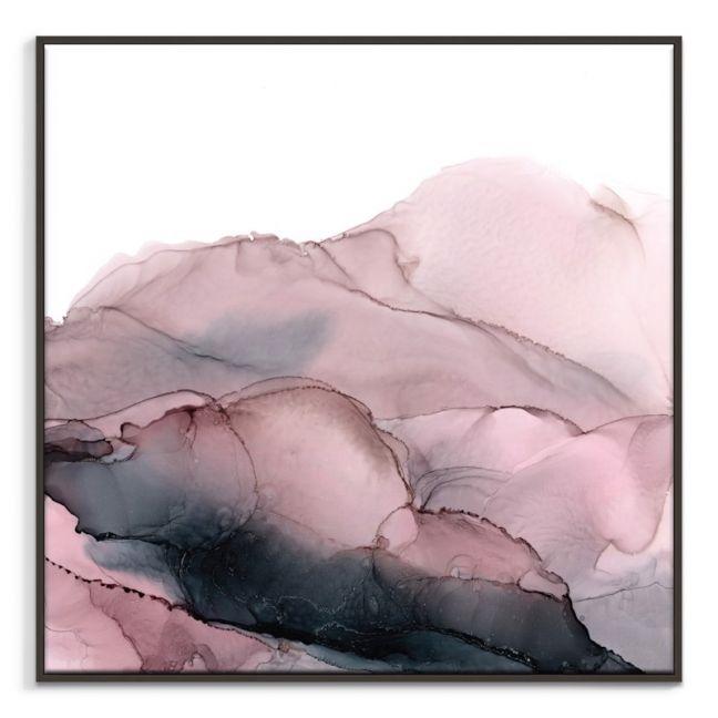 Blush Mountains | Fern Siebler | Canvas or Print by Artist Lane